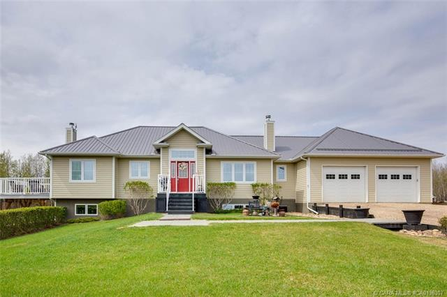 424006 Range Road 14 A, 4 bed, 4 bath, at $699,900